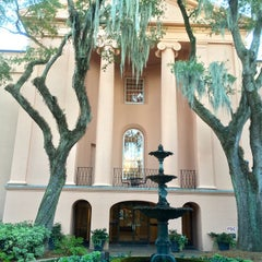 Photo taken at Harrison Randolph Hall, College of Charleston by Josiah A. on 11/4/2014