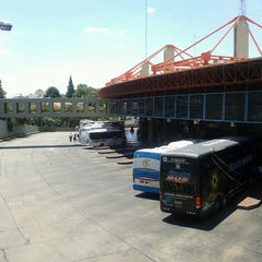 Photo taken at Terminal de ómnibus de Córdoba by Noralí S. on 1/13/2013