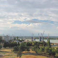 Photo taken at Азовский Морской Порт by Arnold P. on 8/28/2014