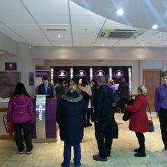 Photo taken at Premier Inn London County Hall by Terence Y. on 12/2/2012