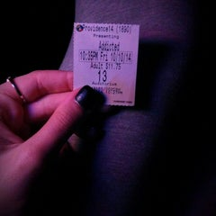 Photo taken at Regal Cinemas Providence 14 by Brittany J. on 10/11/2014