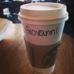 Photo taken at Starbucks by Giovanni T. on 2/9/2013