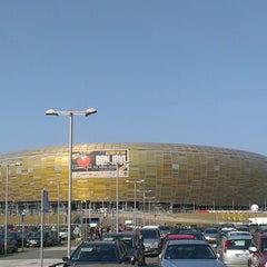 Photo taken at PGE Arena Gdańsk by Marcin W. on 6/19/2013