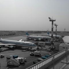 Photo taken at Kuwait International Airport (KWI) by abdulwahab on 4/14/2013