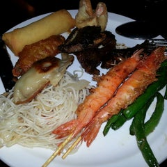 Photo taken at Pacific Seafood Buffet by N L. on 3/4/2013