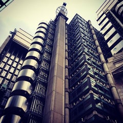 Photo taken at Lloyd's of London by Andre G. on 5/24/2015