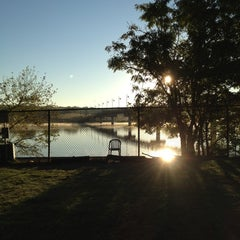 Photo taken at White Rock Lake Dog Park by Scott H. on 10/28/2012