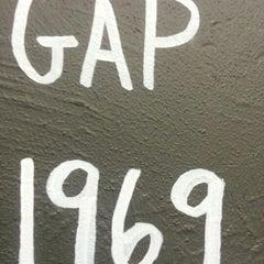 Photo taken at Gap by Sebastian M. on 12/12/2012