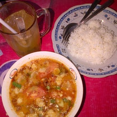 Photo taken at Soto Betawi H. Mamat by riska alia d. on 12/16/2012