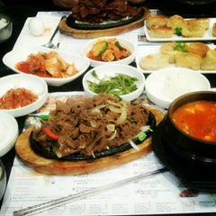 Photo taken at BCD Tofu House by Carlo B. on 11/1/2012