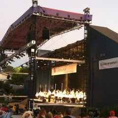 Photo taken at Shawnee Mission Theater In The Park by Sherilyn on 9/3/2013