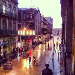 Photo taken at Corredor Peatonal Madero by Diego H. on 5/21/2013