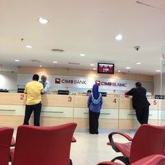 Photo taken at CIMB Bank by amirul a. on 4/3/2014