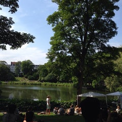 Photo taken at Ørstedsparken by Gionata E. on 6/8/2014