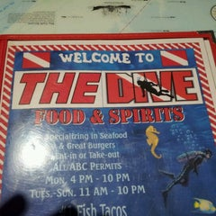 Photo taken at The Dive Food & Spirits by DC B. on 11/3/2012
