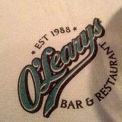 Photo taken at O'Learys by Ernest K. on 9/22/2012