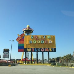 Photo taken at South of the Border by Matt on 3/8/2013