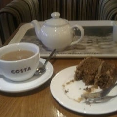 Photo taken at Costa Coffee by Jackie S. on 4/5/2013