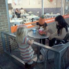 Photo taken at 3 Spoons Yogurt by Chuck on 10/15/2012