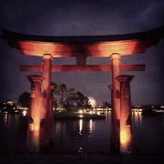 Photo taken at Japan Pavilion by Adolfo C. on 2/26/2013