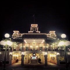 Photo taken at Walt Disney World Railroad - Main Street Station by Adolfo C. on 5/14/2013