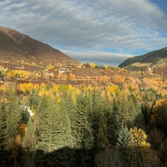 Photo taken at Aspen Meadows Resort by Justin K. on 10/6/2012