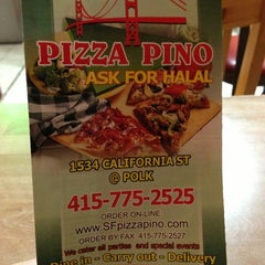 Photo taken at Pizza Pino by David R. on 1/14/2013