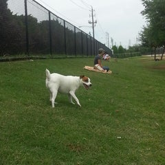 Photo taken at Danny Jackson Bark Park by Bernadette T. on 5/12/2013