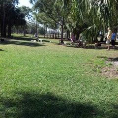 Photo taken at Estero Community Park Dog Run by Katie O. on 1/27/2013