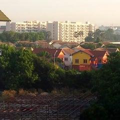 Photo taken at Jomtien hostel by Alexey G. on 12/20/2012