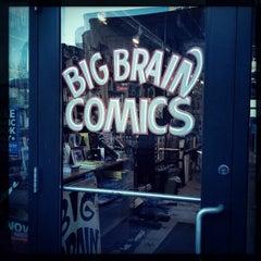 Photo taken at Big Brain Comics by Ericka B. on 2/28/2015