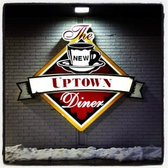 Photo taken at Uptown Diner by Ericka B. on 3/9/2013