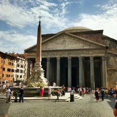 Photo taken at Pantheon by Luca D. on 7/29/2013