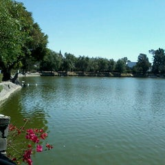 Photo taken at Laguna de San Baltazar by Fati L. on 4/3/2013