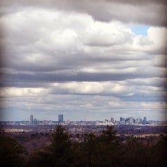 Photo taken at Hancock Hill (Blue Hills) by David on 4/23/2015