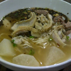 Photo taken at Soto Mie Agih Sukabumi by Hero 李. on 1/26/2013