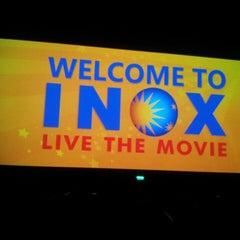 Photo taken at INOX Movies by Kaushik R. on 5/18/2013