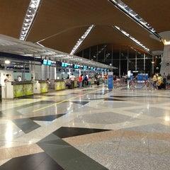 Photo taken at Kuala Lumpur International Airport (KUL) by Fredrik on 7/20/2013