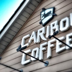 Photo taken at Caribou Coffee by Lindsey S. on 10/25/2012