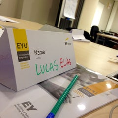 Photo taken at EYU - Ernst & Young University by Lucas E. on 10/20/2014