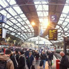 Photo taken at Platform 1 by Gabriel M. on 10/19/2012