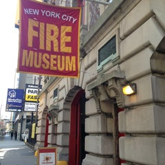 Photo taken at New York City Fire Museum by Grant G. on 4/24/2013