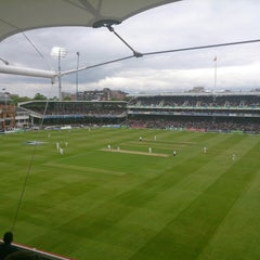 Photo taken at Lord's Cricket Ground (MCC) by Andrew F. on 5/17/2013