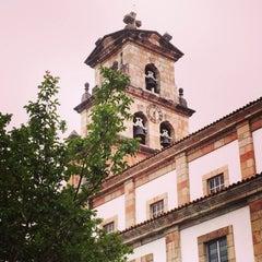 Photo taken at Cangas de Onís by Daniel L. on 6/4/2015