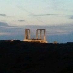 Photo taken at Ακρωτήρι Σουνίου (Cape Sounion) by Apostolis on 9/15/2012