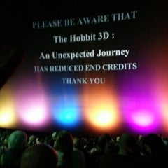 Photo taken at Cineworld IMAX by Greg U. on 12/16/2012