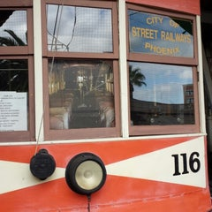 Photo taken at Phoenix Trolley Museum by Emily S. on 11/16/2013