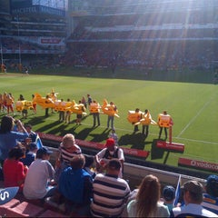 Photo taken at Newlands Rugby Stadium by Nigel D. on 3/9/2013