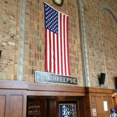 Photo taken at Poughkeepsie Station - Metro North & Amtrak by Linda R. on 3/8/2013
