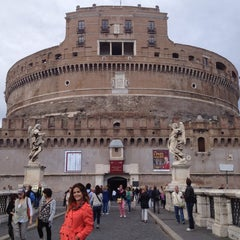 Photo taken at Castel Sant'Angelo by Marianita 8a on 9/14/2012